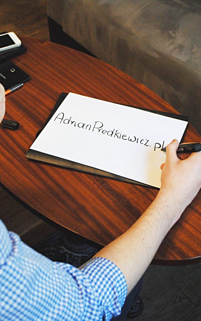 Blog Adrian Prędkiewicz