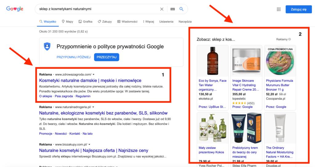 reklama w Google Ads, tworzenie reklam w Google Ads