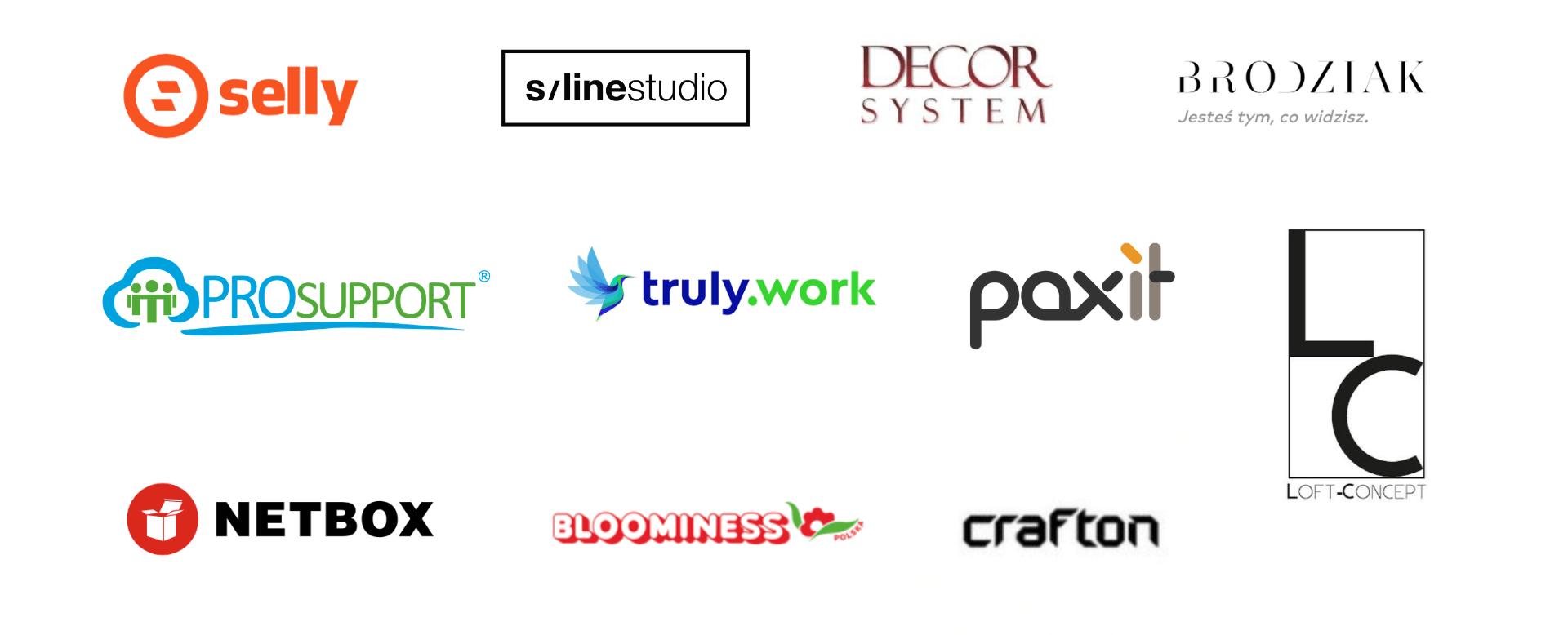 logotypy firmy współpracujące